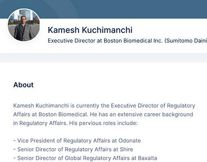 Kamesh Kuchimanchi - remote.com
