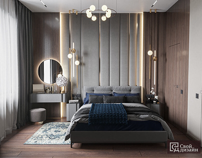 Bedroom - luxury interior