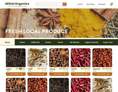 Organic Site