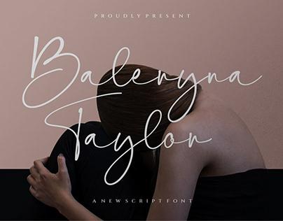 Baleryna Taylor