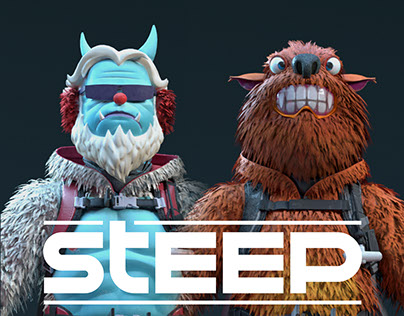 STEEP - Furry Monsters