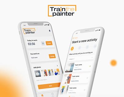 Train the painter mobile app