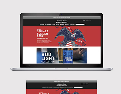 Anheuser-Busch Branded Products Website
