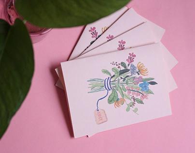Mother's day card - Trocando em Miúdos