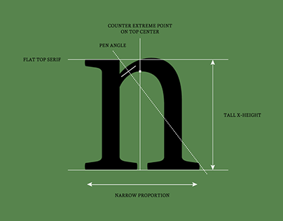 TRAJAN lowercase on Behance