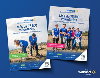 Voluntarios Fundación Walmart
