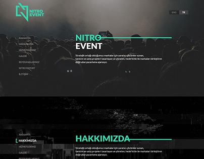 Nitro Event Paralax Responsive CSS/HTML Kodlama