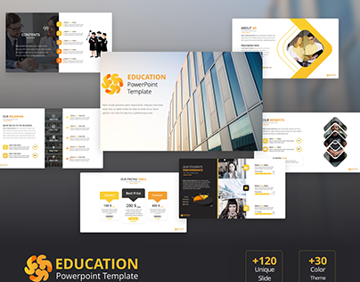 Free Education PowerPoint Template