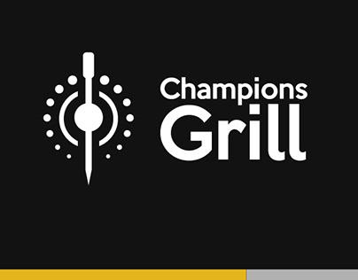 Champions Grill | Identidade Visual &Materiais Diversos