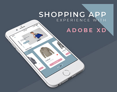 Shopping App | Experience With Adobe XD