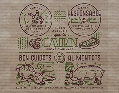 Enoterra restaurant illustrations