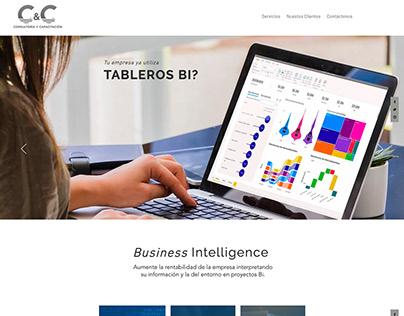 Diseño Web para CyC / C y C's Website