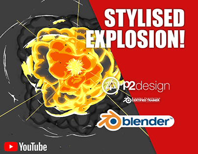 Stylised explosion tutorial