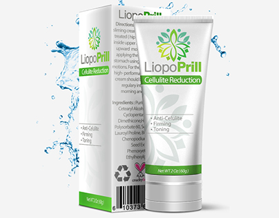 LiopoPrill Packaging Design & box design