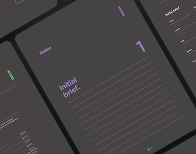 Better brand - (digital client on-boarding forms)
