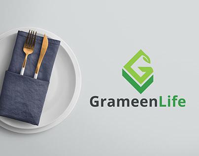 Grameen Life Logo Design - Organic Logo