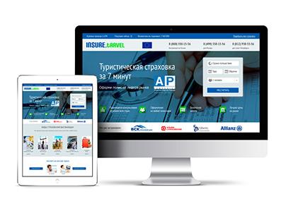 Website «Insure Travel»