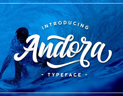 Andora Hand Lettered Font