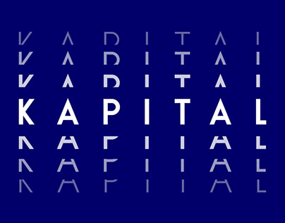 K A P I T A L Typeface by Superfried