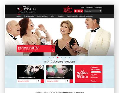 Palais Montcalm - Site Internet