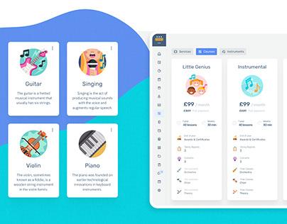 Learning SAAS platform