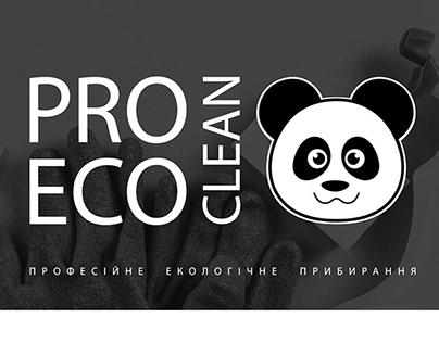 Logo & corporate identity PRO ECO CLEAN