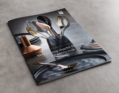 "WMF Professional Brochure ""The perfect finish"""