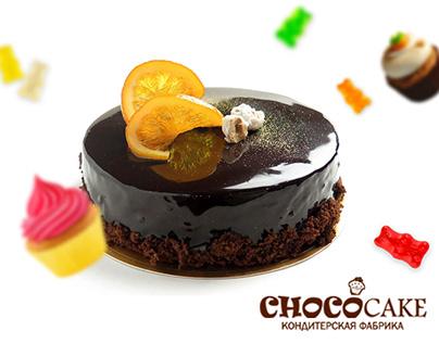 Web site for Chokocake