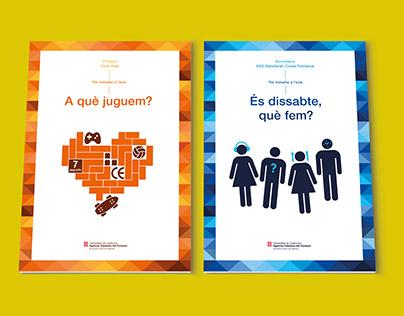 Illustrations and graphic design. Escola de Consum