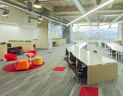 Oficinas VIAJES EXITO / City Plaza / Medellín