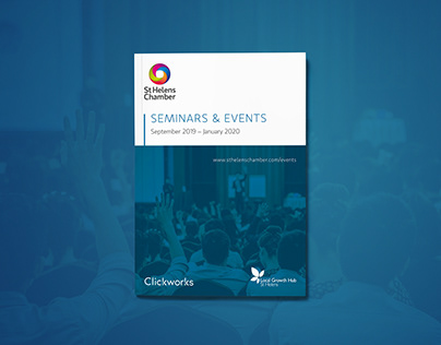 St Helens Chamber Seminars & Events brochure 2019-2020