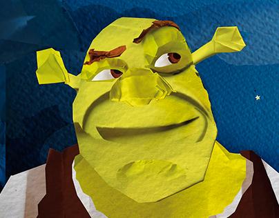 Paper Shrek