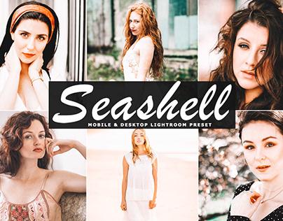 Free Seashell Mobile & Desktop Lightroom Preset