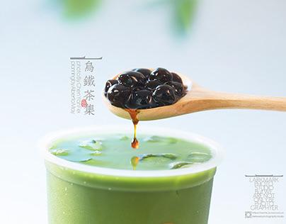 清凉古风饮品海报摄影 乌铁茶集 drink&tea