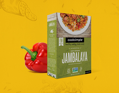 CookSimple Packaging and Brand Refresh