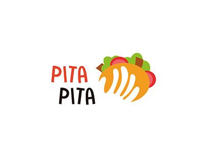 Diseño de logotipo para Kebab Pita Pita