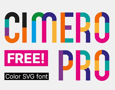 Cimero Pro Font (FREE)