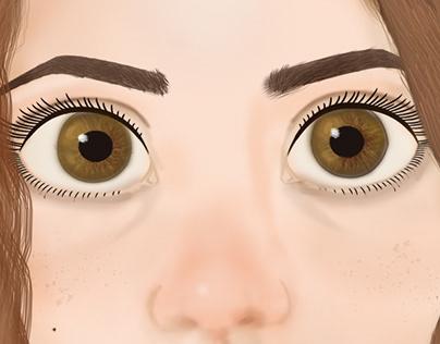 Illustration self portrait