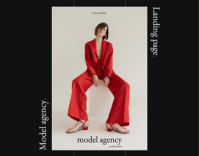Landing page | Model Agency
