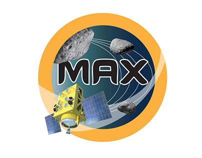 MAX Multiple Asteroid Explorer Mission Logo