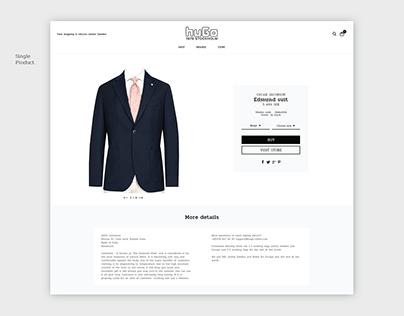 Hugo Sthlm | E-commerce Theme