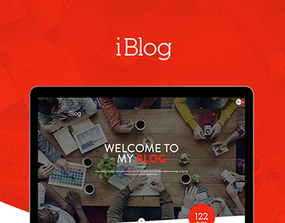 iBlog - Creative Responsive WordPress Blog Theme