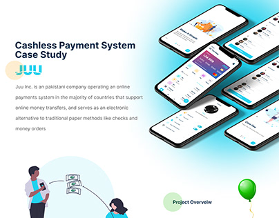 Caseless Payment System ux case Study