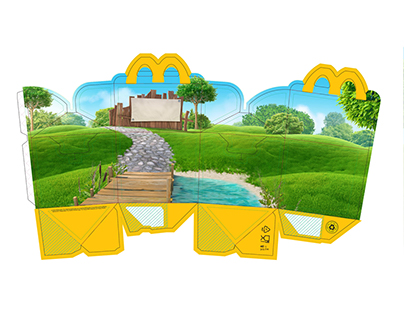 Verpakkingsillustraties Happy Meal / Packaging illustr
