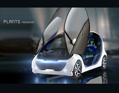 Minibus for plants transportation