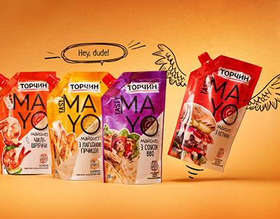 Tasty MAYO. Packaging design