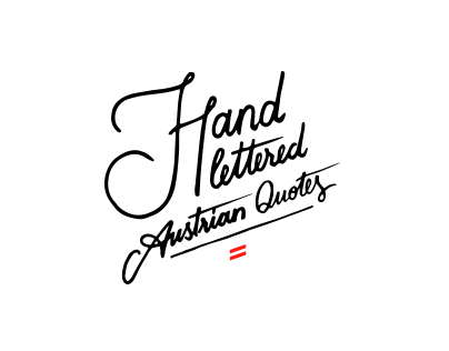 Hand Lettering #1 - Sounds of Vienna