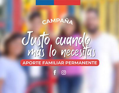 Aporte Familiar Permanente - CAMPAÑA