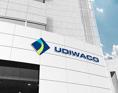 Thiết kế logo công ty bất động sản Udiwaco