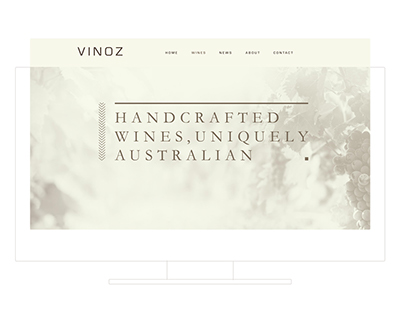 Corporate Design - VINOZ.lu